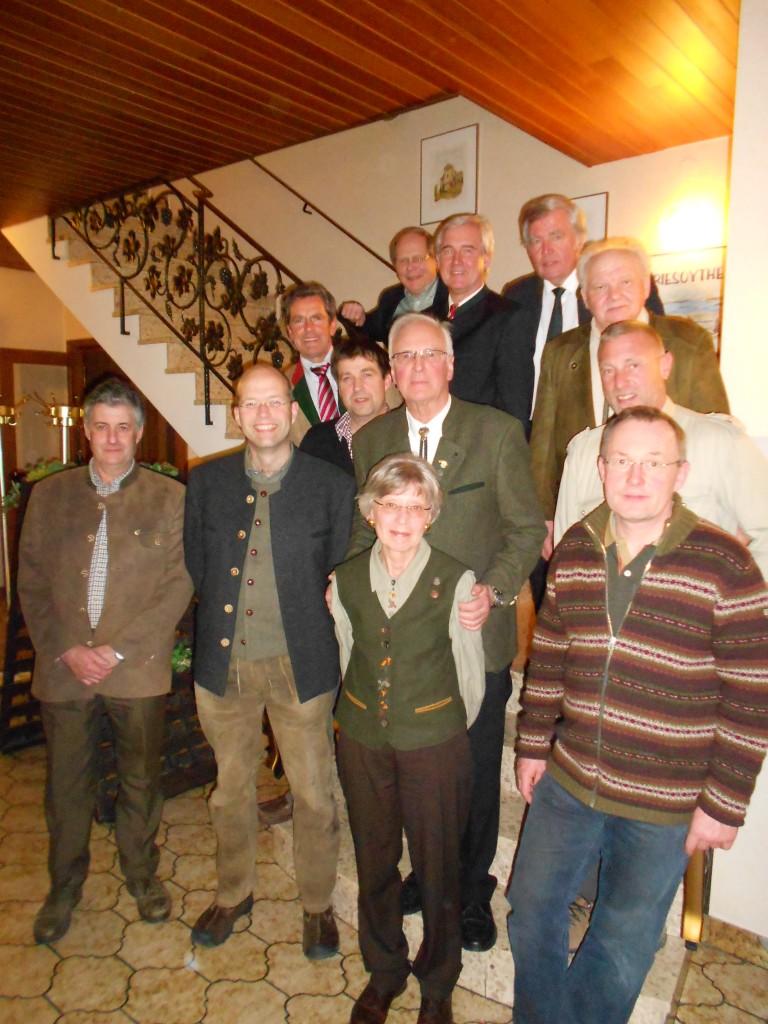 Der neue Vorstand des Jagdvereins Rheingau e.V.